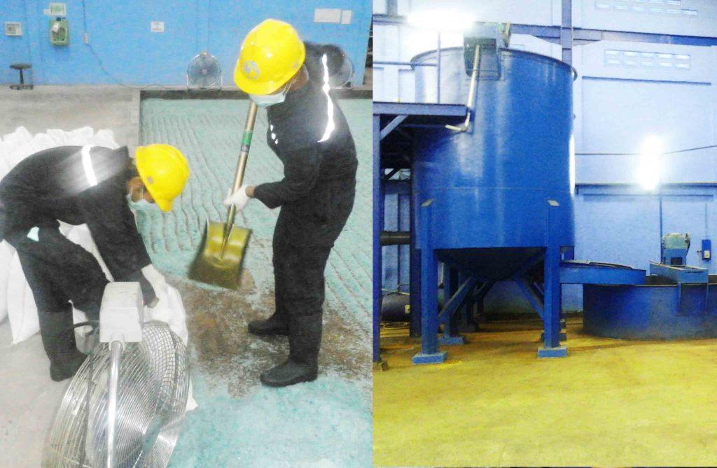 multihanna kreasindo pengolah limbah b3 ferro sulfat