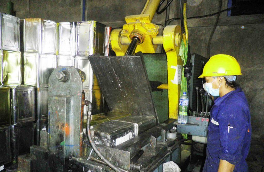 multihanna kreasindo pengolah limbah b3 press kaleng